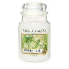 Yankee Candle LINDEN TREE Large Jar 22 oz Candle NEW European Exclusive