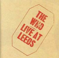 THE WHO live at leeds (CD, album) classic rock, hard rock, very good condition,