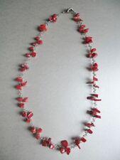 """16 - 17.99"""" Coral Fine Necklaces & Pendants"""
