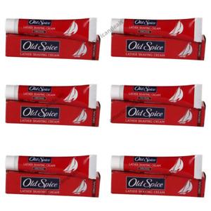 6 Pack Old Spice Shaving Cream Original 70g Lather Foaming Men's Shaving Cream