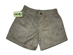 Vintage Tan Corduroy Classics OP Style crop bermuda shorts size 36-38