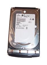 """Fujitsu 73 GB SAS 15k Rpm 3.5"""" MBA3073RC Unidad De Disco Duro Con Caddy/0F238F"""