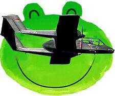 "Model Airplane Plan Vintage 1:12 Scale Control Line Span 30"" 2-.15 OV-10A Bronco"
