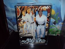 MEGO 12INCH  BUCK ROGERS ACRYLIC CASES TO STORE THEM IN 13 3/4HX 9 1/4 WX2 1/2D