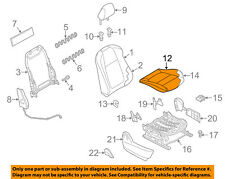 MAZDA OEM 13-15 CX-5 Front Seat-Cushion Bottom Cover Right KD4988111D02