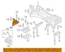 VW VOLKSWAGEN OEM 15-16 GTI-Engine Motor Mount Torque Strut 5Q0199262BK