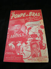 Partition La pompe à bras Andrex Coestier Music Sheet