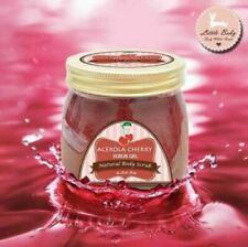 1 X Acerola Cherry Scrub Gel Whitening Skin Soft and Smooth Reduces Dark Circles