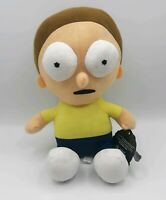 """Rick and Morty 10"""" Morty Plush Toy Doll Toy Factory Adult Swim Cartoon"""