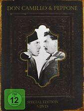 DON CAMILLO und & PEPPONE 1- 5 Box DVD BIBBIA EDIZIONE Collezione Nuovo