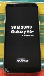 Samsung Galaxy A6+ SM-A605G/DS - 32GB Used Faulty Phone, For Parts only.