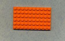 Lego--3033--Grundplatte--Bauplatte--- Orange -- 6 x 10 --
