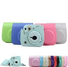 For Fujifilm Fuji Instax Mini 8 9 Film Camera PU Leather Bag  Cover Case HY