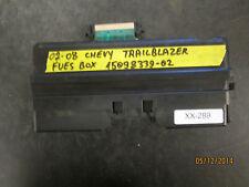 02 03 04 05 06 07 08 CHEVY TRAILBLAZER FUSE BOX #15098339-02 *See item*