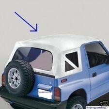 95-98 Suzuki Sidekick Geo Tracker SOFT TOP   white  NEW