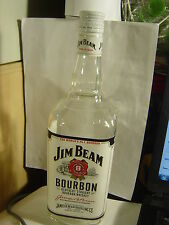 1 JIM BEAM BOURBON KENTUCKY  WHISKY  1 L Empty Bottle