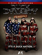 Duck Dynasty: Season 4 (Blu-ray Disc, 2014, 2-Disc Set) includes slipcover