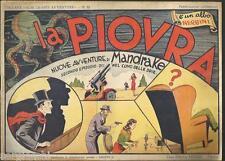 MANDRAKE (THE MAGICIAN) LA PIOVRA  -collana grandi avventure 65-NERBINI 1948