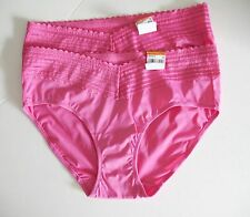 2 Warner's Lace Hipster Panty Jazzy Pink 5609J Sz 5/S - NWT