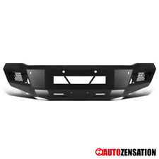 For 2015-2019 Chevy Silverado 2500 3500 Black Steel Front Bumper Guard 1PC