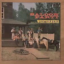 Vinyle 33 Tours - Westerners - Saloon Party - 16109A - LP Rpm