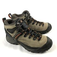 Merrell Chameleon II Leather Mid Mens 8 Brown Hiking Trail Boots