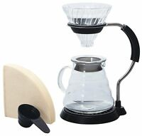 Hario V60 Arm Stand Glass Coffee Dripper Set VAS-8006-G MADE IN JAPAN