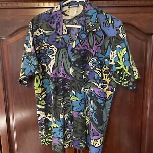 Gallery Limited Vintage Button Up Shirt Made In U.S.A.