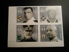 US #4440-4443 44¢ Distinguished Sailors plate block of 4 (4443a) MNH