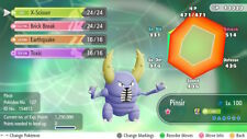 Pokemon Let's Go Shiny Pinsir Max 6IV / AV [Fast Delivery] Original Owner