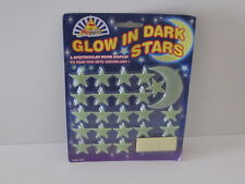 3D Glow in Dark Stars and Moon Set. Great for Kids ceilings or walls Dreamland