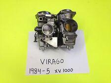 # 12488 YAMAHA VIRAGO XV 1000 SET OF POLISHED  HITACHI CARBS CARBURETORS 1984-5