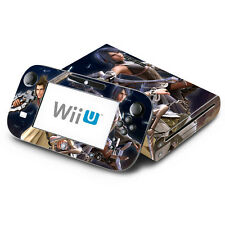 Skin Decal Cover for Nintendo Wii U Console & GamePad - Kingdom Hearts