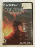 Final Fantasy VII Dirge of Cerberus PlayStation 2 PS2 Complete CIB FREE S/H