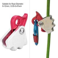 15KN Self-braking Stop Descender Climbing Rock Caving Rope Rescue Rappel Device
