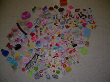 325 pc Lot Barbie & Ken Accessories & other doll accessories Food Dishes shoes