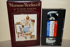 Norman Rockwell and The Saturday Evening Post with Ken Stuart (VHS, 1986)