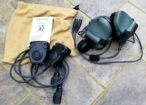 3M Peltor comtac III ACH Neckband Version With Dual Radio Capability LT MIC