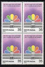 INDIA MNH 1982 125th Anniversary of Sir J. J. School of Art, Block of 4