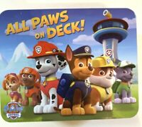Paw Patrol Metal Lunch Box, all paws on deck