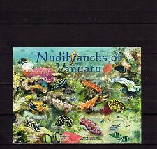 Vanuatu 2006 Marine Life Nudibranchs MNH