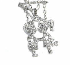 Love & Hearts Simulated Round Costume Necklaces & Pendants