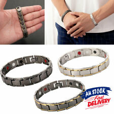 Magnetic Therapy Bracelet Bio Anion Energy Care Unisex Health Healing