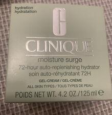 CLINIQUE Moisture Surge 72 Hour Auto Replenishing Hydrator Gel 125 ml NEW
