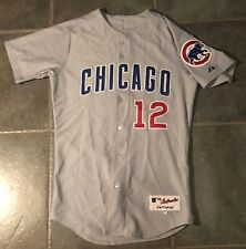 Chicago Cubs Authentic Alfonso Soriano Stitched Majestic Jersey Sz 40