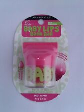 Maybelline Baby Lips Balm Ball Tinted Lip Balm / 75 Pout In Pink *NEW*