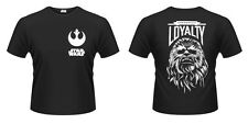Star Wars Episode VII maglia T shirt Chewbacca Loyalty Size L PHD Merchandise