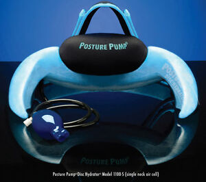 Posture Pump Cervical Neck Pain Relief Single Cell Traction Disc Hydrator 1100-S