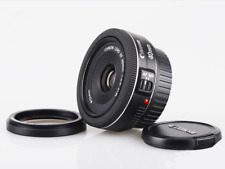 NEW Canon EF 40mm f/2.8 STM Lens Pancake Black: White Box
