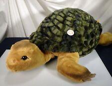 """Steiff Slo Turtle Tortoise Large 27"""" New Plush Toy  068478 -  56513"""